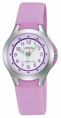 Lorus Kids Purple 100m Sport Watch R2301KX9