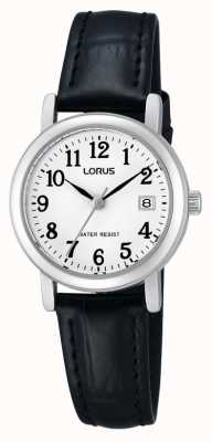 Lorus Ladies Leather Strap Watch RH765AX9