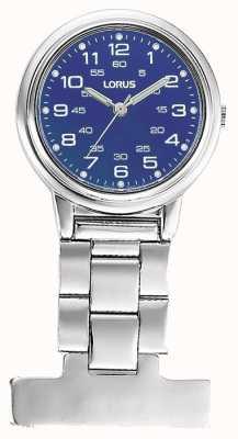 Lorus Women's Nurse Fob Watch Blue Dial RG251DX9