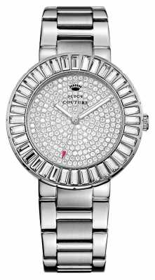 Juicy Couture Womens Grove, Stainless Steel, Crystal Watch 1901177