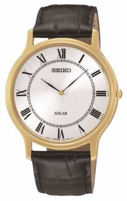 Seiko Men's Solar Powered Watch SUP878P9