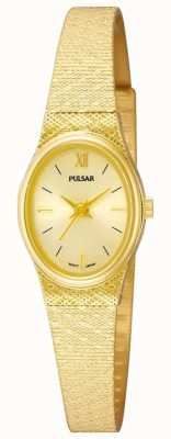 Pulsar Ladies Pulsar Watch | Gold mesh strap | PK3032X1