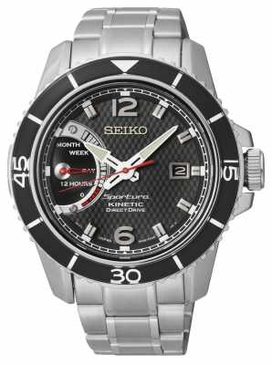 Seiko Men's Sportura Direct Drive Kinetic Watch SRG019P1