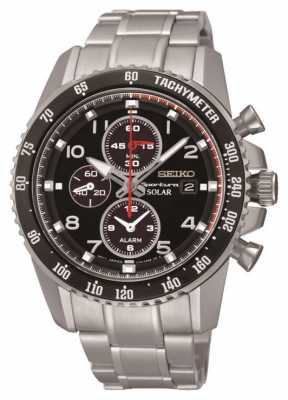 Seiko Men's Solar Chronograph Sportura Watch SSC271P9