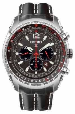 Seiko Mens Prospex Chronograph Solar Powered Watch SSC261P2