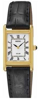 Seiko Womens' Solar Powered Watch SUP250P1