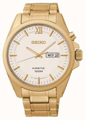Seiko Mens Kinetic Watch SMY158P1