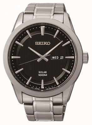 Seiko Mens Solar Powered Watch SNE363P1
