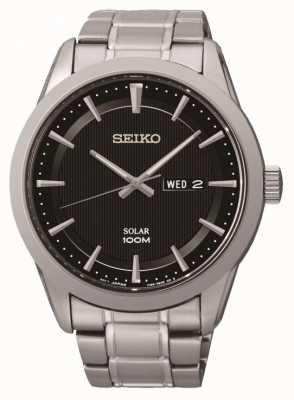 Seiko Mens Solar Powered Watch SNE363P1