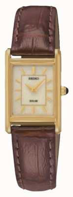Seiko Womens' Solar Powered Watch SUP252P9