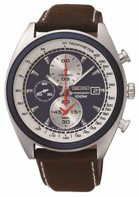 Seiko Mens Sports Chronograph Watch SNDF95P1