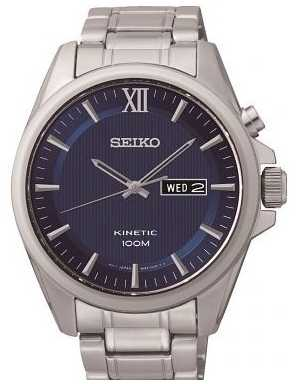 Seiko Mens Kinetic Watch SMY159P1