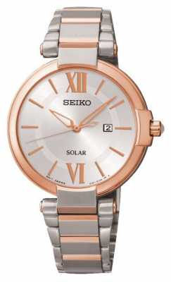 Seiko Womens' Solar Powered Watch SUT156P1