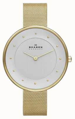 Skagen Ladies' Gold Tone Mesh Watch SKW2141