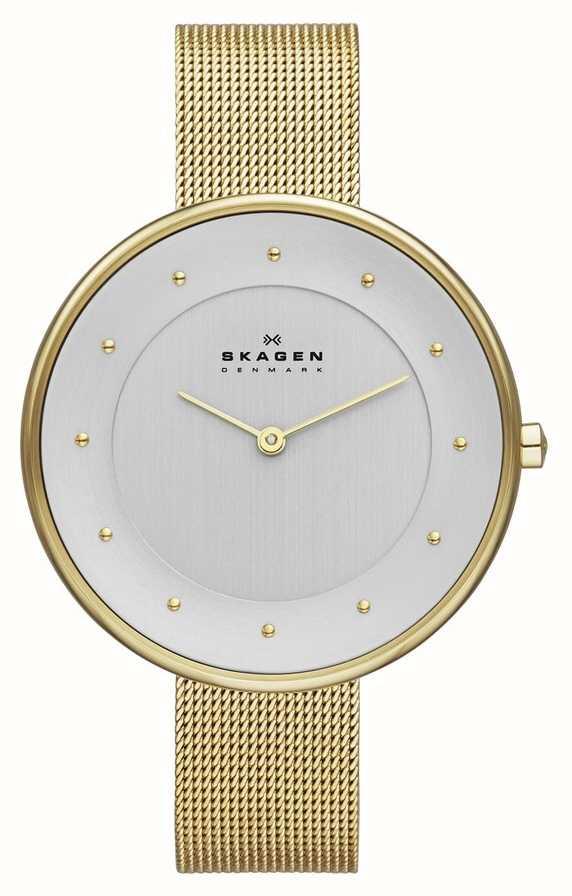 fadc115c2b95 Skagen Ladies  Gold Tone Mesh Watch SKW2141 - First Class Watches™