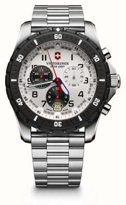 Victorinox Swiss Army Mens Maverick Sport Chrono Black/ White 241681