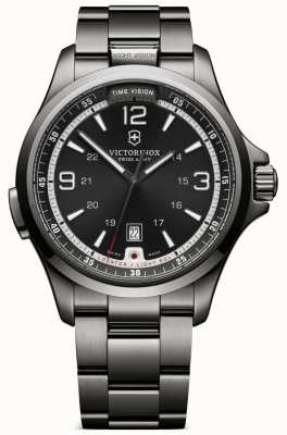 Victorinox Swiss Army Mens Night Vision Grey Watch 241665