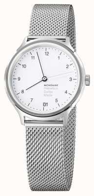 Mondaine Ladies Mondaine Watch | Steel Mesh Strap | MH1.R1210.SM