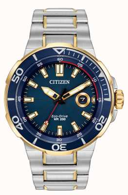 Citizen Mens Endeavor Eco-Drive Watch AW1424-54L