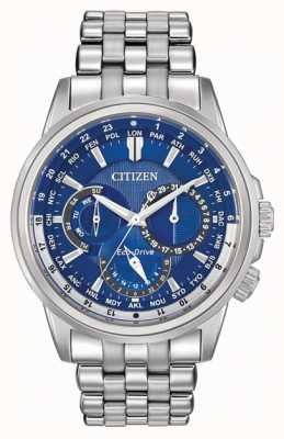 Citizen Mens Calendrier World Timer Eco-Drive Watch BU2021-51L