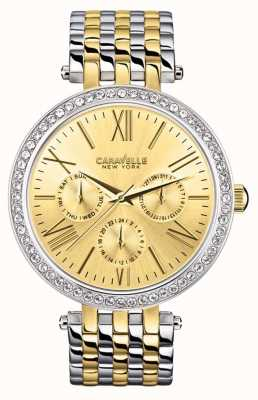 Caravelle New York Ladies Multi Link Watch 45N100