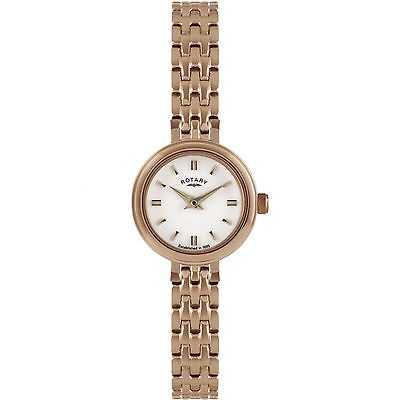 Rotary Classic Rose Gold Tone Steel Watch LB02088/02/SET