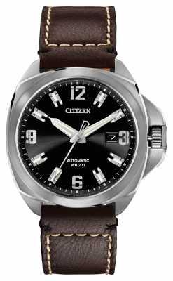 Citizen Automatic Grand Touring Signature Leather NB0070-06E