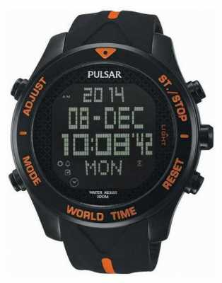 Pulsar Mens Pulsar Alarm Chronograph Watch PQ2037X1
