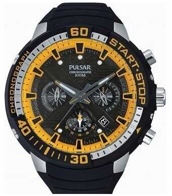 Pulsar Mens X Paul Luc Ronchetti Limited Edition PT3643X1