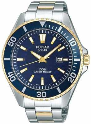 Pulsar Men's Stainless Steel Solar Powered PX3032X1