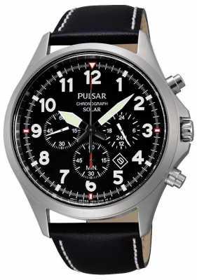 Pulsar Mens Solar Sport Chronograph Watch PX5007X1
