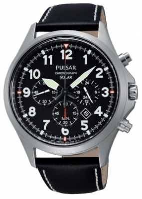 Pulsar Men's Solar Sport Chronograph Watch PX5007X1