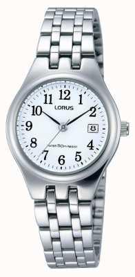 Lorus Ladies Stainless Steel Date Watch RH791AX9