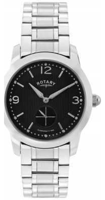Rotary Mens Cambridge, Black Dial Watch GB02700/04