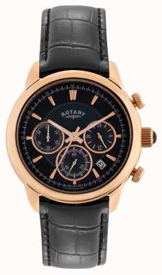 Rotary Monaco Mens Rose Gold Chronograph Watch GS02879/04
