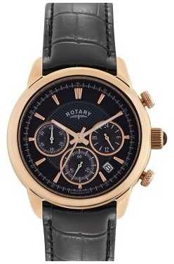 Rotary Monaco Men's Rose Gold Chronograph Watch GS02879/04