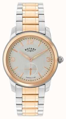 Rotary Cambridge Mens Two Tone Watch GB02701/01