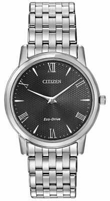 Citizen Mens Stiletto Eco-Drive Classic Dress Watch AR1120-50F
