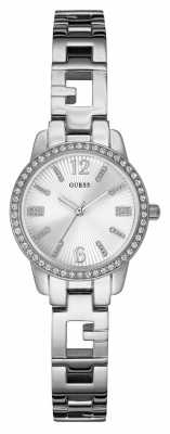 Guess Ladies' Charming Stone Set Watch W0568L1