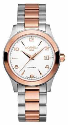 Roamer Womens Silver Quartz Analog Watch 950660492490