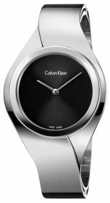 Calvin Klein Womens Belt, Steel Watch K5N2S121