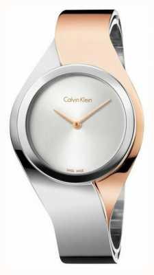 Calvin Klein Womens Senses, Two Tone (Small) K5N2S1Z6
