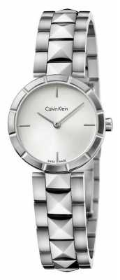 Calvin Klein Mens Edge, Stainless Steel Watch K5T33146