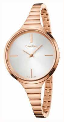 Calvin Klein Womens, Lively, Rose Gold Watch K4U23626
