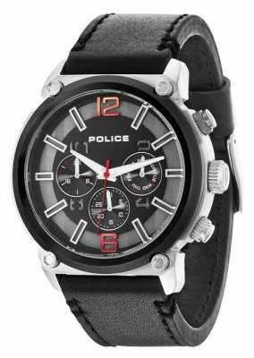Police Mens Armor Black Chronograph Watch 14378JSTB/02