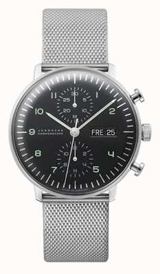 Junghans Max Bill Chronoscope (English Date) 027/4500.49