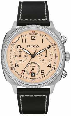 Bulova Military UHF Chronograph Strap Watch 96B231