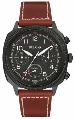 Bulova Military UHF Chronograph Strap Watch 98B245