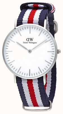 Daniel Wellington Unisex Classic Canterbury 36mm Stainless DW00100051