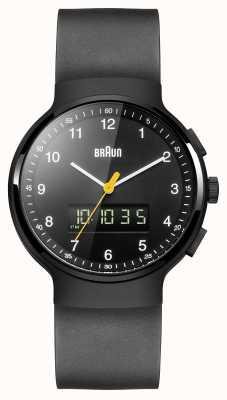 Braun Gent's Black Classic Ana-Digi Watch BN0159BKBKG